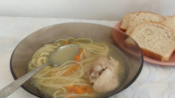 Суп из микроволновки